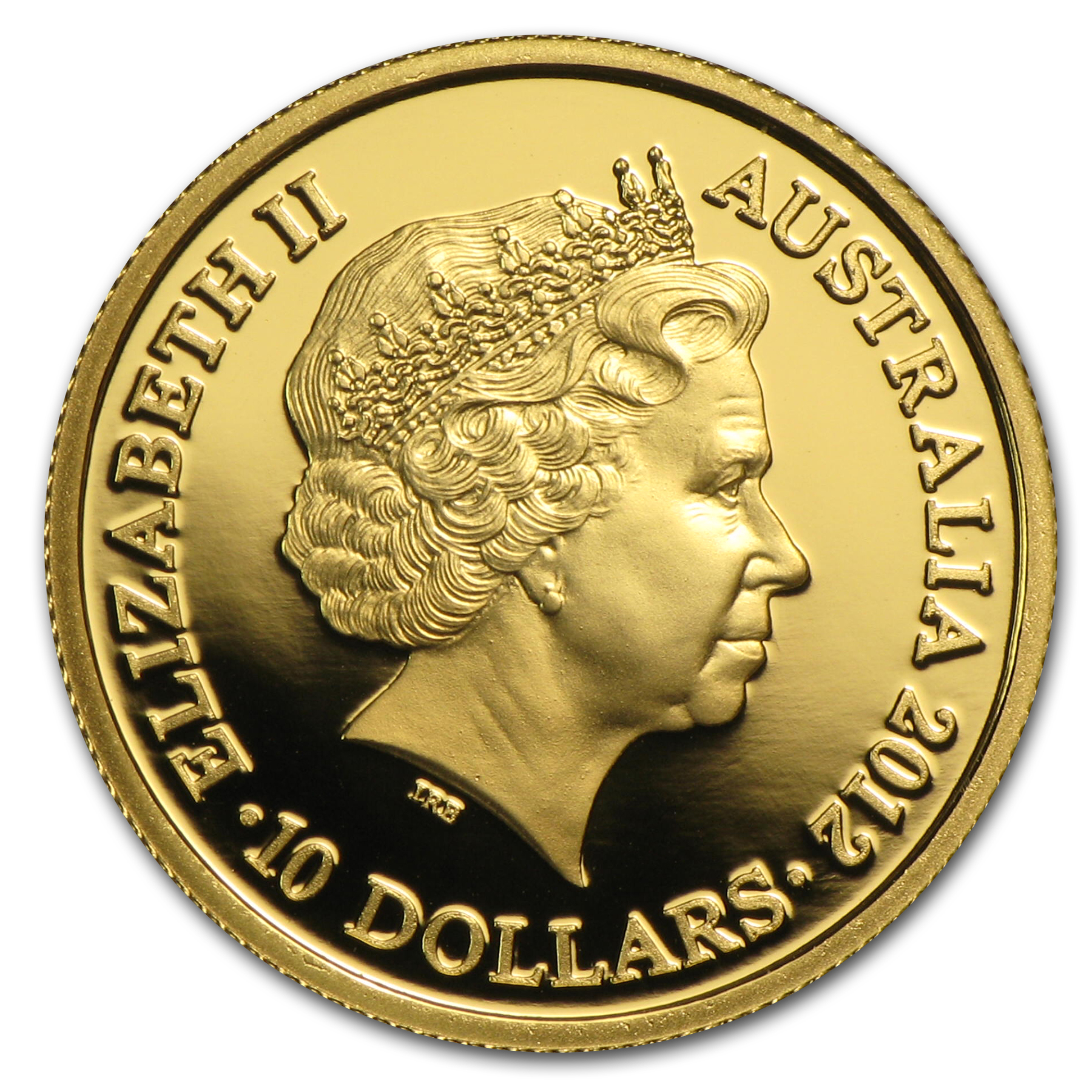 Royal Australian Mint 2012 1/10 oz Gold Proof- Year of the Dragon